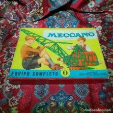 Juegos construcción - Meccano: EQUIPO MECCANO Nº 0.. Lote 147318306