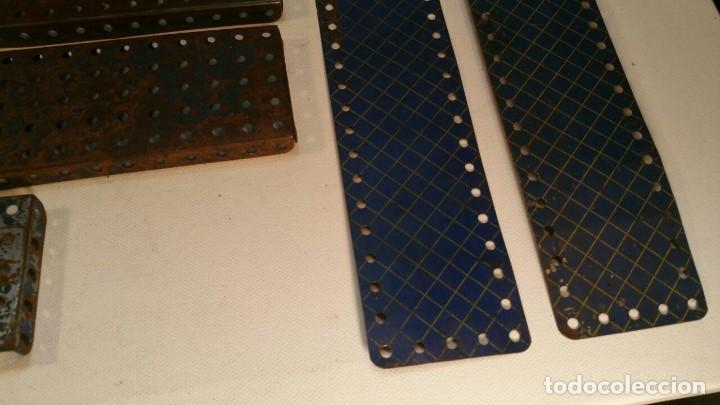 Juegos construcción - Meccano: LOTE DE PIEZAS MECCANO ANTIGUO DEPOSE FRANCIA - Foto 3 - 147646118