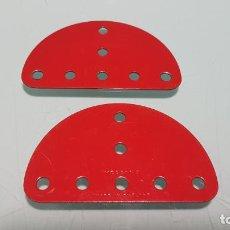 Juegos construcción - Meccano: 2 PIEZAS MECCANO MADE ENGLAND NUEVA . Lote 147662802