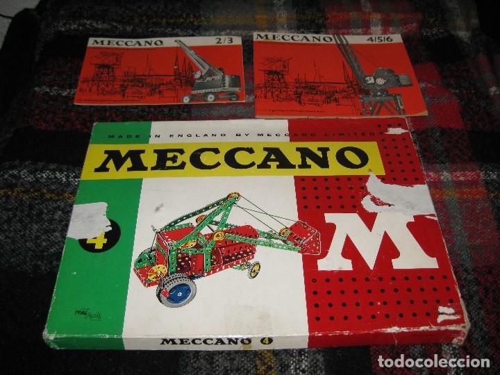 MECCANO 4 (Juguetes - Construcción - Meccano)