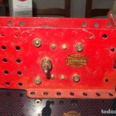 Juegos construcción - Meccano: MOTOR DE MECCANO,LIVERPOOL,ENGLAND,6 VOLTIOS,FUNCIONANDO,AÑOS 30 Ó 40. Lote 147887338