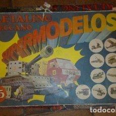 Juegos construcción - Meccano: METALING. MECCANO. SUPERMODELOS. LIBROS DE INSTRUCCIONES Nº15. POCAS PIEZAS. VER FOTOS.. Lote 150326458