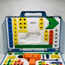 Juegos construcción - Meccano: MALETIN MULTIHOBBY ESCOLAR FEBER TIPO MECCANO, MADE IN SPAIN AÑOS 80. Lote 150533760