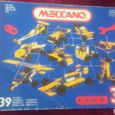 Juegos construcción - Meccano: MECCANO 3 39 MODELOS. Lote 150622978