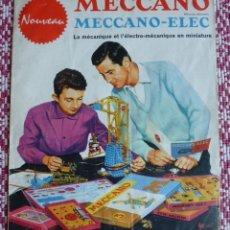 Juegos construcción - Meccano: MECCANO. CATALOGO ANTIGUO MECCANO- ELEC. ILUSTRADO A COLOR. AÑO 1962.. Lote 150757198