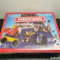 Juegos construcción - Meccano: CAJA MECCANO 2. JUEGO DE CONSTRUCCIÓN DE ACERO. (ENVÍO 4,31€). Lote 152321122