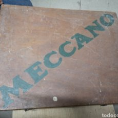 Juegos construcción - Meccano: PRECIOSO MECCANO AÑOS 20 EN PERFECTAS CONDICIONES Y COMPLETO. Lote 152483506