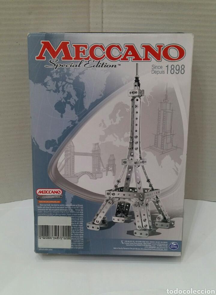 Juegos construcción - Meccano: MECCANO SPECIAL EDITION. TORRE EIFFEL ? NUEVO EN CAJA. 241 PIEZAS.2014.REF 6023504.EDICIÓN ESPECIAL - Foto 2 - 153445181