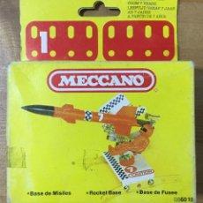 Juegos construcción - Meccano: MECCANO BASE DE MISILES. Lote 155926058