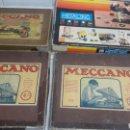 Juegos construcción - Meccano: LOTE DE JUEGOS DE MECCANO. Lote 155956660