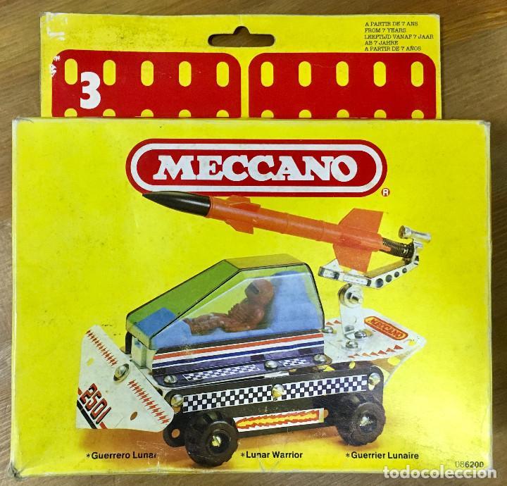 Juegos construcción - Meccano: MECCANO GUERRERO LUNAR REF:6200 - Foto 4 - 156993014
