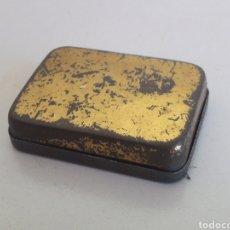 Juegos construcción - Meccano - Caja vacia de tornillos y pequeñas piezas meccano lata hojalata - 157355362
