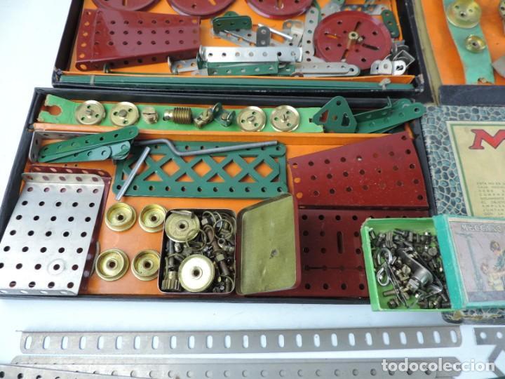Juegos construcción - Meccano: LOTE 3 MECCANO EN CAJA, CAJA 0, 0A Y 1A, TODO LO QUE SE VE EN LAS FOTOGRAFIAS PUESTAS, INTRUCCIONES, - Foto 5 - 159963802