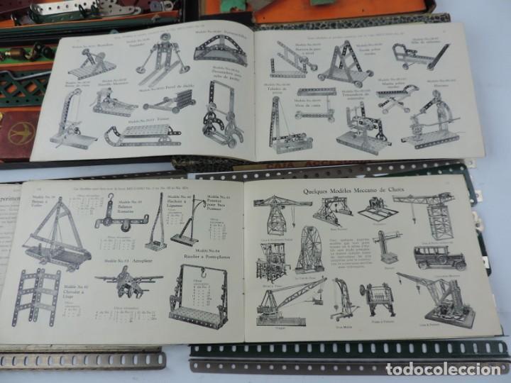 Juegos construcción - Meccano: LOTE 3 MECCANO EN CAJA, CAJA 0, 0A Y 1A, TODO LO QUE SE VE EN LAS FOTOGRAFIAS PUESTAS, INTRUCCIONES, - Foto 14 - 159963802