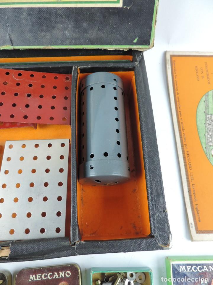 Juegos construcción - Meccano: MECCANO EN CAJA 2A, INTRUCCIONES CON CAJAS METALICAS CON TORNILLOS Y PIEZAS METALICAS. TODO LO QUE S - Foto 3 - 159964434