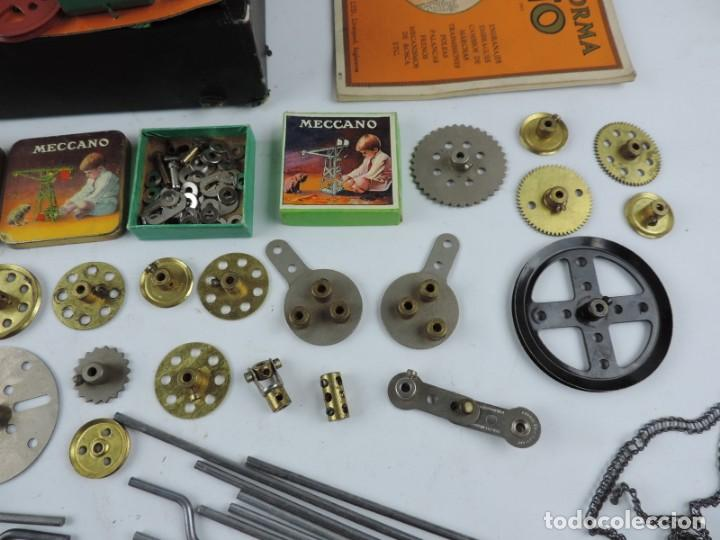 Juegos construcción - Meccano: MECCANO EN CAJA 2A, INTRUCCIONES CON CAJAS METALICAS CON TORNILLOS Y PIEZAS METALICAS. TODO LO QUE S - Foto 6 - 159964434