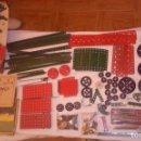 Juegos construcción - Meccano: LOTE ANTIGUO MECCANO ( PIEZAS Y VOLUMENES (3) DE INSTRUCCIONES).. Lote 160637082