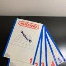 Juegos construcción - Meccano: INSTRUCCIONES MECCANO DEL 1 AL 5. Lote 160889476