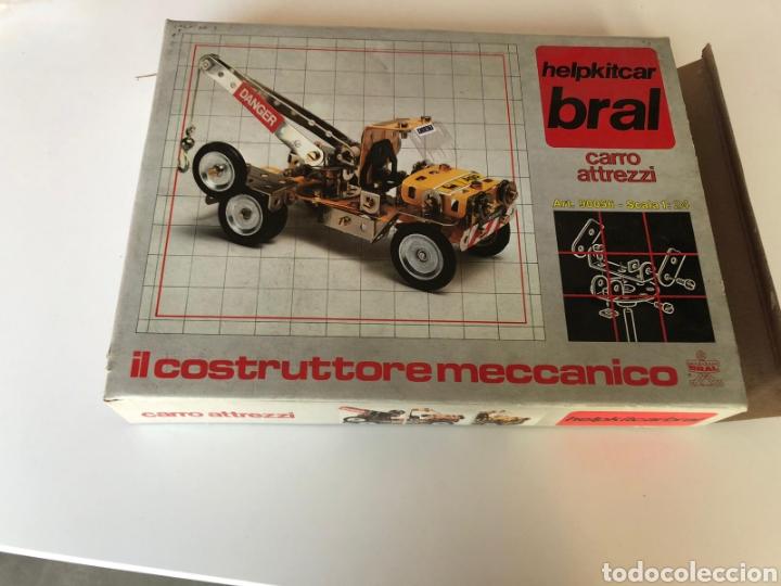 IL COSTRUTTORE MECCANICO HELPKITCAR BRAL CARRO ATTREZZI GRÚA MECCANO (Juguetes - Construcción - Meccano)
