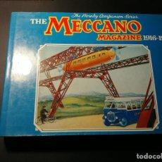 Juegos construcción - Meccano: MECCANO LIBRO MECCANO MAGAZINE. BUEN ESTADO COMO NUEVO, CON CUBIERTA.. Lote 163418658