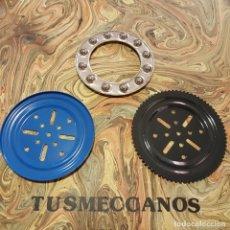 Juegos construcción - Meccano: 3 PIEZAS MECCANO JAMAS USADAS PARTS NUM 168 1970S NEW OLD STOCK . Lote 165521490