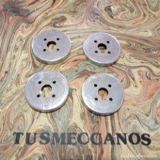 Juegos construcción - Meccano: 4 PIEZAS MECCANO JAMAS USADAS PARTS NUM 30 1970S NEW OLD STOCK . Lote 165524834