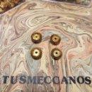 Juegos construcción - Meccano: 4 PIEZAS MECCANO JAMAS USADAS PARTS NUM 30 1970S NEW OLD STOCK . Lote 165545402