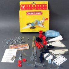 Jeux construction - Meccano: MECCANO Nº 3 PIRATA ESPACIAL NAVE REF 086201 CON CAJA AÑOS 70 COMPLETO. Lote 202436333