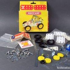 Juegos construcción - Meccano: MECCANO Nº 2 CAR LUNAR REF 086111 CON CAJA AÑOS 70 COMPLETO. Lote 166901320
