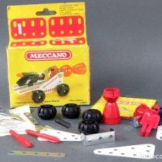 Juegos construcción - Meccano: MECCANO Nº 1 VEHÍCULO LUNAR NAVE REF 086202 CON CAJA AÑOS 70 CASI COMPLETO. Lote 166902124