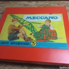 Juegos construcción - Meccano: MECCANO 3A AÑOS 30. Lote 167041002