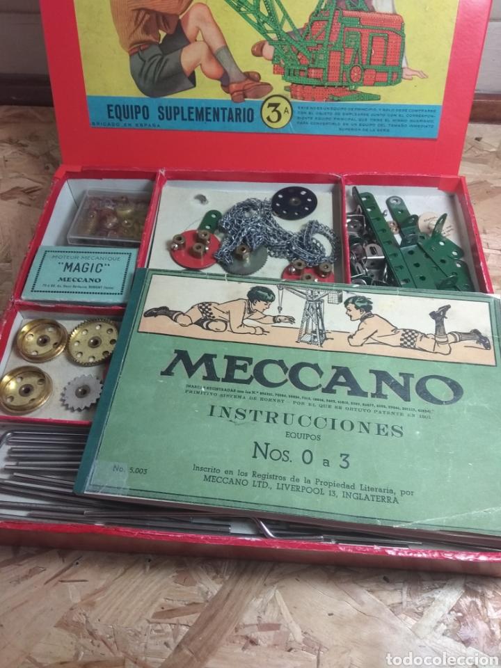 Juegos construcción - Meccano: Meccano 3a años 30 - Foto 2 - 167041002