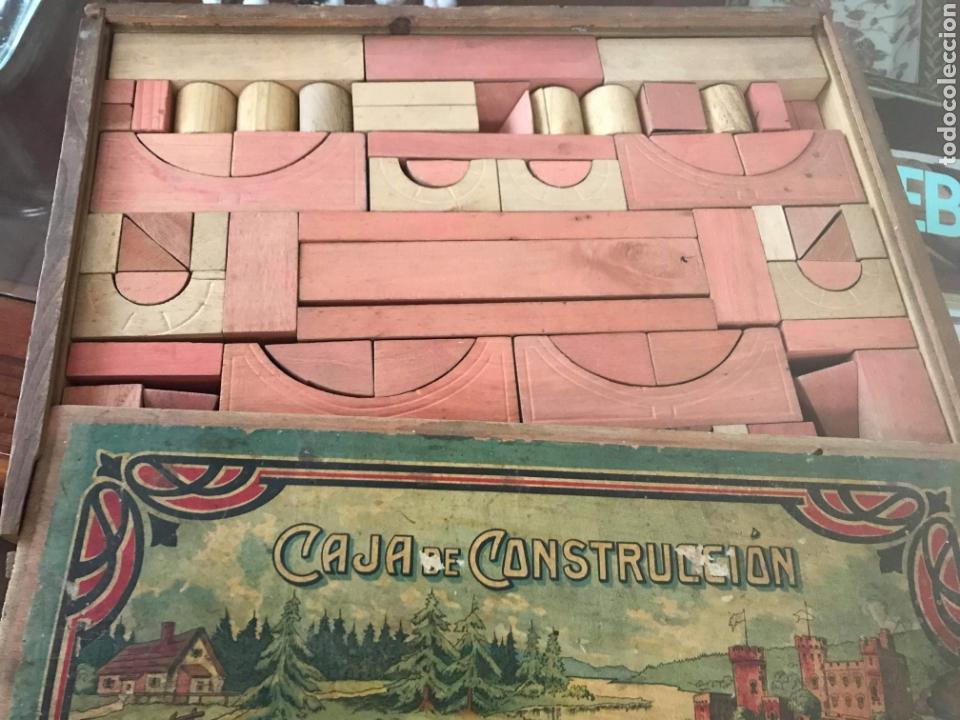 Juegos construcción - Meccano: CAJA DE CONSTRUCCIÓN PUENTE DE MADERA COMPLETO AÑOS 30 BUEN ESTADO - Foto 2 - 167757534