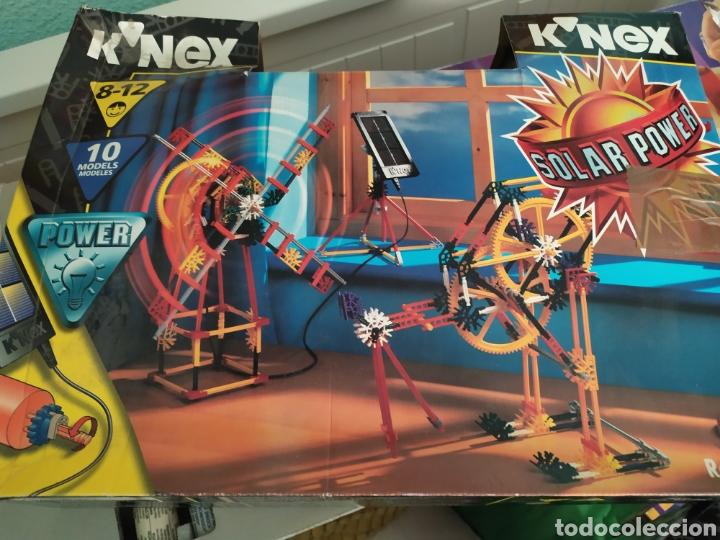 K-NEX 10 MODELOS CON PLACA SOLAR, DE LOS 90 NUEVO (Juguetes - Construcción - Meccano)