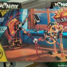 Juegos construcción - Meccano: K-NEX 10 MODELOS CON PLACA SOLAR, DE LOS 90 NUEVO. Lote 171270190
