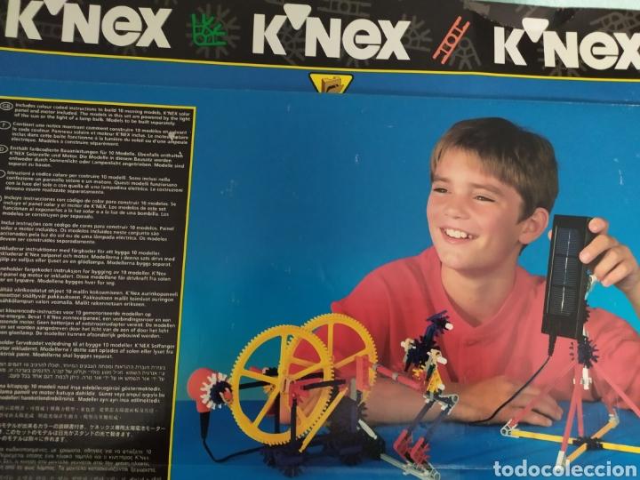 Juegos construcción - Meccano: K-nex 10 modelos con placa solar, de los 90 nuevo - Foto 2 - 171270190