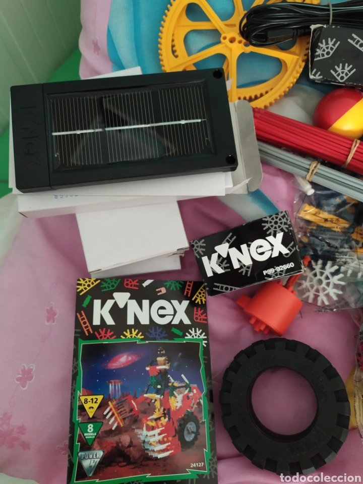 Juegos construcción - Meccano: K-nex 10 modelos con placa solar, de los 90 nuevo - Foto 4 - 171270190