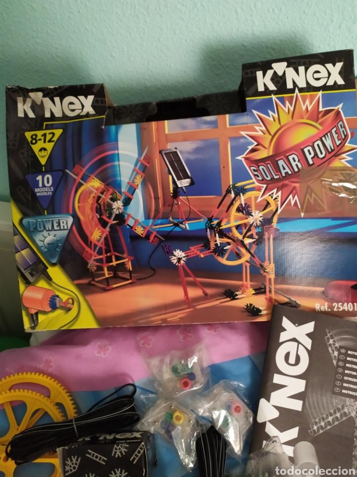 Juegos construcción - Meccano: K-nex 10 modelos con placa solar, de los 90 nuevo - Foto 7 - 171270190