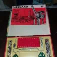 Juegos construcción - Meccano: MECCANO 1, AÑOS 60 EN SU CAJA ORIGINAL, TAL CUAL LA FOTO.. Lote 171653029