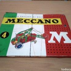 Juegos construcción - Meccano: MECCANO N°4.. Lote 171972620