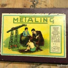 Juegos construcción - Meccano: METALING MECCANO NUMERO 0 - COMPLETO. Lote 172255822