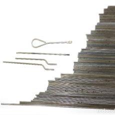 Juegos construcción - Meccano: LOTE EJES MECCANO, DE 34 A 2 CM ( 80 PIEZAS).. Lote 173191718