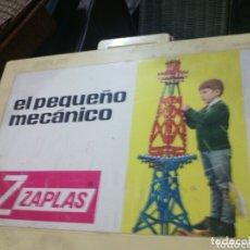 Juegos construcción - Meccano: ZAPLAS MI PEQUEÑO MECÁNICO MALETÍN COMPLETO. Lote 173897253