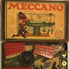 Juegos construcción - Meccano: ANTIGUO JUGUETE MECCANO 00 CONSTRUCCIÓN INGENIERÍA JUVENTUD CAJA Y LIBRETO CATÁLOGO 00 Y 0. Lote 174037853