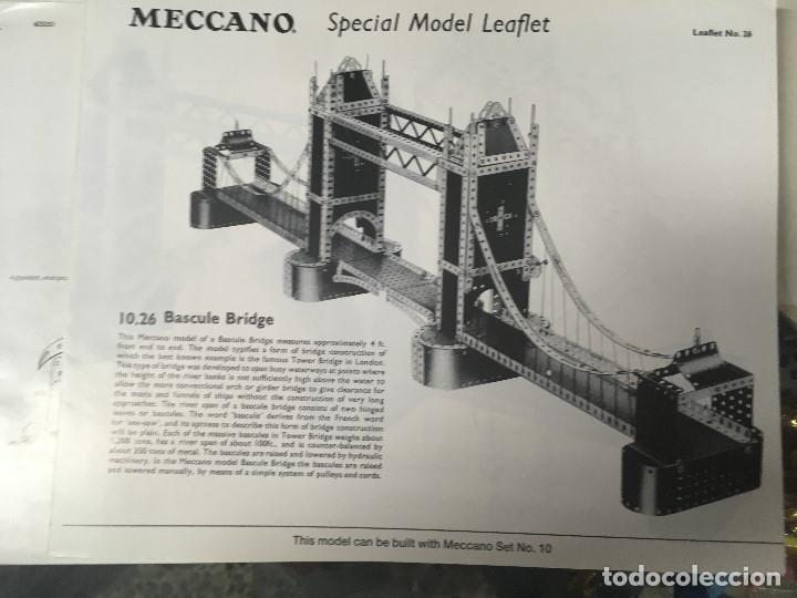 Juegos construcción - Meccano: Meccano clásico SET/OUTFIT 9 (nuevo a estrenar ) - Foto 5 - 174260400