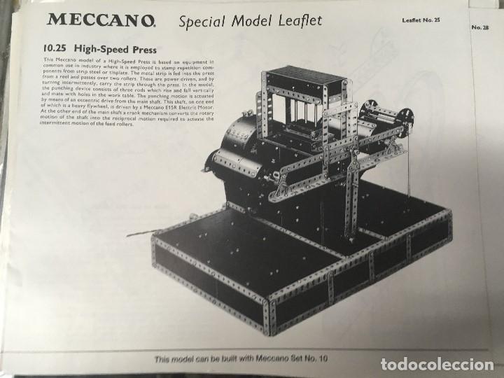 Juegos construcción - Meccano: Meccano clásico SET/OUTFIT 9 (nuevo a estrenar ) - Foto 6 - 174260400