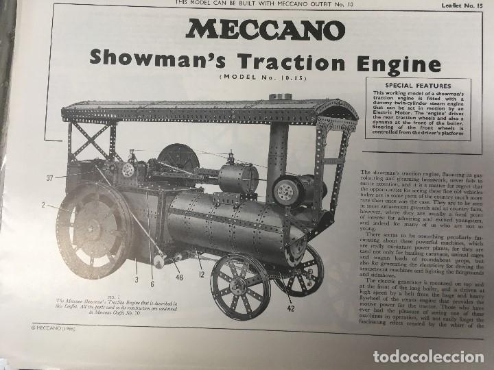Juegos construcción - Meccano: Meccano clásico SET/OUTFIT 9 (nuevo a estrenar ) - Foto 7 - 174260400