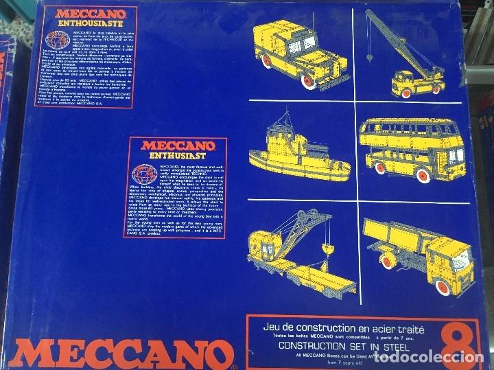 MECCANO CLÁSICO 8 (NUEVO A ESTRENAR ) (Juguetes - Construcción - Meccano)