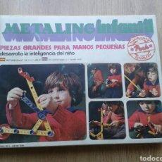 Juegos construcción - Meccano: JUEGO MECANO. METALING INFANTIL. POCH. BARCELONA.1976.. Lote 174440048