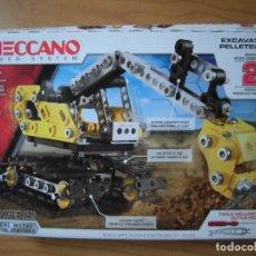 Juegos construcción - Meccano: MECCANO EXCAVADORA EXCAVATOR PELLETOUSE . Lote 176508099